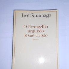 Libros de segunda mano: O EVANGELIO SEGUNDO JESUS CRISTO. ROMANCE. JOSE SARAMAGO. EN PORTUGUES. TDK303. Lote 67528481