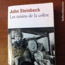 Libros de segunda mano: LES RAISINS DE LA COLÈRE. Lote 69039205