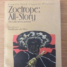 Libros de segunda mano: REVISTA ZOETROPE ALL-STORY FRANCIS FORD COPPOLA - GUEST DESIG. GUILLERMO DEL TORO. SPR 2009 V 13 N 1. Lote 70218621