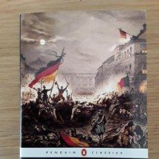 Libros de segunda mano: MARX AND ENGELS: THE COMMUNIST MANIFESTO - PENGUIN CLASSICS. Lote 70219289