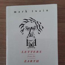 Libros de segunda mano: MARK TWAIN: LETTERS FROM THE EARTH. UNCENSORED WRITINGS. EDITED BY BERNARD DEVOTO. HARPER. Lote 70222745