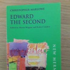 Libros de segunda mano: CHRISTOPHER MARLOWE: EDWARD THE SECOND - NEW MERMAIDS. Lote 70295013