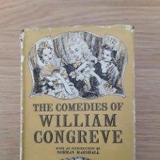 Libros de segunda mano: THE COMEDIES OF WILLIAM CONGREVE - THE CHILTERN LIBRARY. Lote 70295165