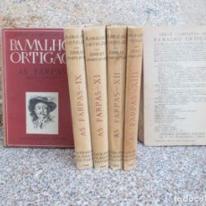 Libros de segunda mano: PORTUGAL - TOMOS SUELTOS DE OBRAS COMPLETAS: AS FARPAS - RAMALHO ORTIGAO - PVP POR TOMO 1946 + INFO. Lote 71747679