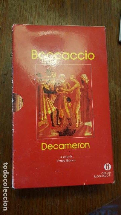 DECAMERON. BOCCACIO. EN ITALIANO. (Libros de Segunda Mano - Otros Idiomas)