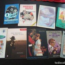 Libros de segunda mano: LOTE DE NUEVE LIBROS PARA APRENDER INGLÉS. Lote 73153551