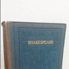 Libros de segunda mano: THE COMPLETE WORKS OF WILLIAM SHAKESPEARE. EDITED WITH A GLOSSARY, BY W.J. CRAIG, M.A. OXFORD 1914.. Lote 73641203