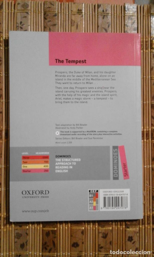 Libros de segunda mano: The tempest - William Shakespeare - en inglés - falta CD - Foto 2 - 74987175