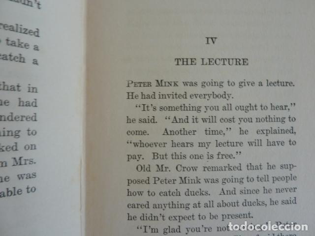 Libros de segunda mano: The Tale of Peter Mink.-Arthur Scott Bailey /En inglés con ilustraciones - Foto 4 - 75897463