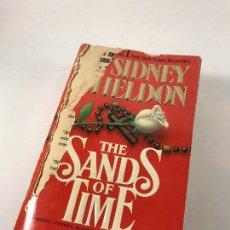 Libros de segunda mano: NOVELA EN INGLES THE SAND OF TIME DE SIDNEY SHELDON (WARNER BOOKS 1988). Lote 76699531