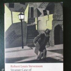 Livros em segunda mão: STRANGE CASE OF DR. JEKYLL AND MR HYDE & OTHER TALES. ROBERT LOUIS STEVENSON. Lote 77431429