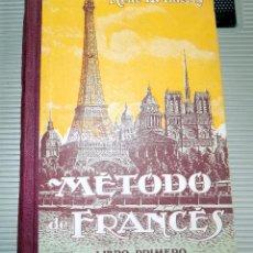 Libros de segunda mano: METODO DE FRANCES. LIBRO PRIMERO. RENE H. THIERRY. 1931. Lote 78120493