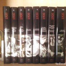 Libros de segunda mano: GERRA ZIBILA EUSKAL HERRIAN 8 TOMOS ARALAR LIBURUAK 2000 EUSKERA. Lote 78381093