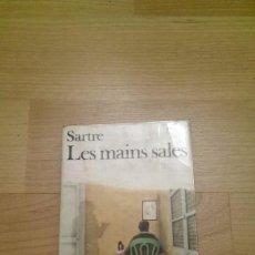 Libros de segunda mano: LES MAINS SALES. Lote 79195217