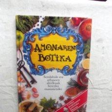 Libros de segunda mano: AMONAREN BOTIKA. Lote 80729986