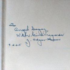 Libros de segunda mano: AUTÓGRAFO J EDGAR HOOVER FBI LIBRO FIRMADO Y DEDICADO AL EMBAJADOR ÁNGEL SAGAZ ZUBELZU(?). Lote 80853535