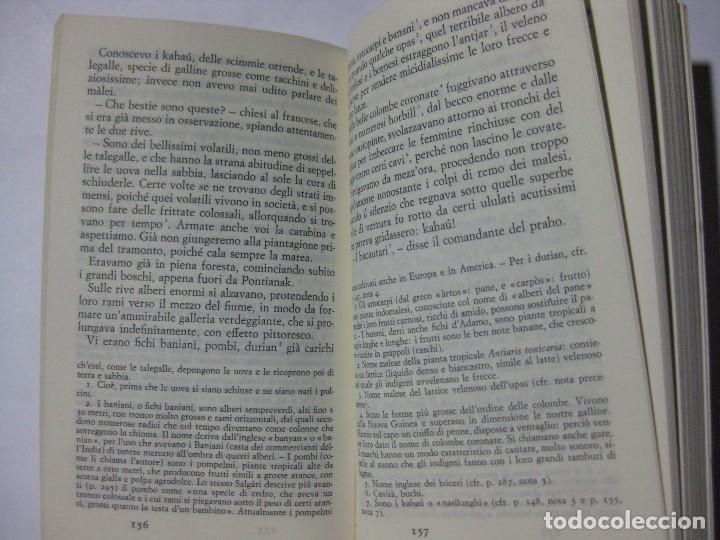 Libros de segunda mano: AVVENTURE DI PRATERIA DI GIUNGLA E DI MARE - EMILIO SALGARI - GIULIO EINAUDI - 1971 - EN ITALIANO - Foto 3 - 81677348