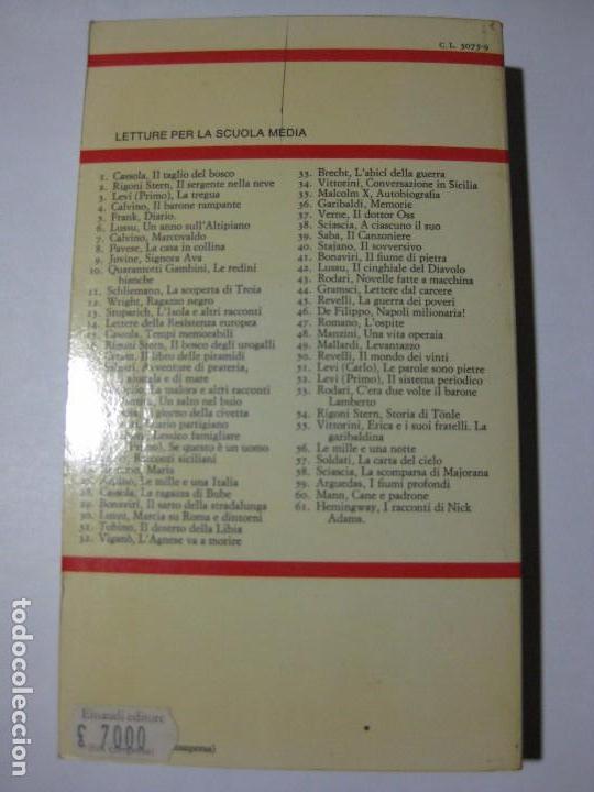 Libros de segunda mano: AVVENTURE DI PRATERIA DI GIUNGLA E DI MARE - EMILIO SALGARI - GIULIO EINAUDI - 1971 - EN ITALIANO - Foto 4 - 81677348