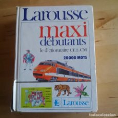 Libros de segunda mano - LAROUSSE MAXI DEBUTANTS - DICCIONARIO ESCOLAR EN FRANCES - 82937212