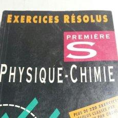 Libros de segunda mano: LIBRO EN FRANCÉS PHYSIQUE-CHIME AÑO 94. Lote 82994158