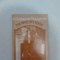 Libros de segunda mano: THE RAZOR'S EDGE (EL FILO DE LA NAVAJA) - EN INGLES. W. SOMERSET MAUGHAM. ESTADO DE LUJO. A ESTRENAR. Lote 83903540