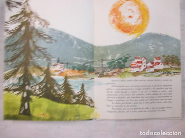 Libros de segunda mano: GALICIA INFANTIL - O ABETO VALENTE - JORDI COTS MARIA RIUS - GALAXIA 1966 30PAG ILUSTRADO - Foto 2 - 84350648
