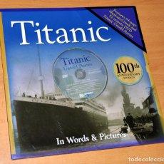 Libros de segunda mano: LIBRO + DVD EN INGLÉS: TITANIC, 100TH ANNIVERSARY EDITIÓN - DISCOVERY CHANNEL - 1ª EDICIÓN, AÑO 2011. Lote 86155280