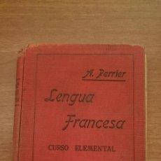 Libros de segunda mano: LENGUA FRANCESA - CURSO ELEMENTAL -A. PERRIER . Lote 86470288