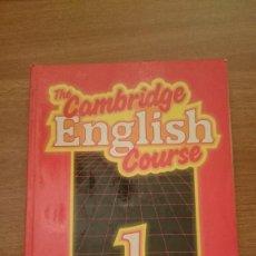Libros de segunda mano: THE CAMBRIDGE -ENGLISH- COURSE 1ºPRACTICE BOOK. Lote 86473100