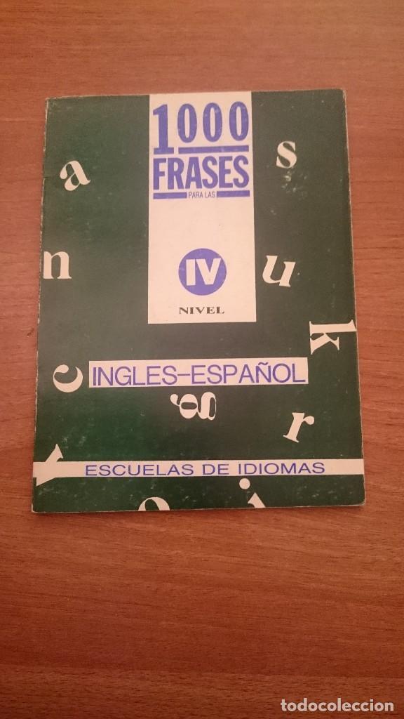1000 Frases Ingles Español Escuela De Idioma Comprar En