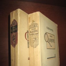 Libri di seconda mano: DON QUIJOTE EN ESTONIO. 1947. PRIMERA TRADUCCIÓN COMPLETA. 2 TOMOS. Lote 86759360