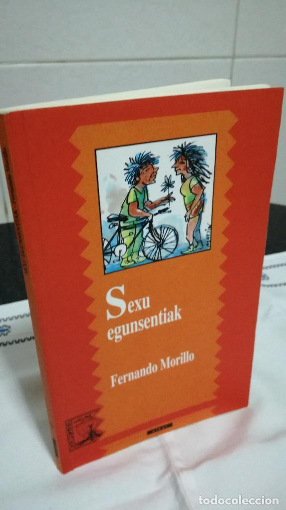 12-SEXU EGUNSENTIAK, FERNANDO MORILLO, EN VASCO, 2000 (Libros de Segunda Mano - Otros Idiomas)