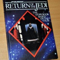 Libros de segunda mano: LIBRO EN INGLÉS: STAR WARS - RETURN OF THE JEDI (EL RETORNO DEL JEDI) - EDITA: STMICHEL - AÑO 1983. Lote 145104032