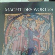 Libros de segunda mano: MACHT DES WORTES. Lote 88960576
