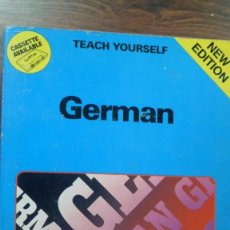 Libros de segunda mano: TEACH. YOURSELF. GERMAN.PAUL COGGLE. TEACH YOURSELF BOOKS. APRENDE ALEMÁN. Lote 266163918