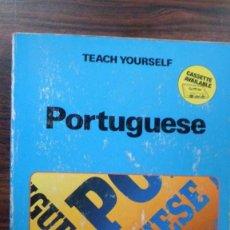 Libros de segunda mano: TEACH. YOURSELF. PORTUGUESE. MANUELA COOK. TEACH YOURSELF BOOKS. APRENDE PORTUGUÉS. Lote 88975908