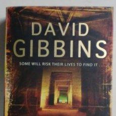 Libros de segunda mano: DAVID GIBBINS - THE LAST GOSPEL - HEADLINE (EN INGLÉS). Lote 89170340