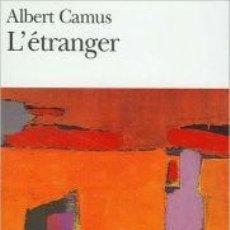 Libros de segunda mano - ALBERT CAMUS - L´ETRANGER. GALLIMARD FOLIO 1972 - 89814032