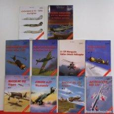 Libros de segunda mano: LOTE AVIOLIBRI TOMOS 1, 2, 3, 4, 6, 7, 8, 9, 10 Y 11. Lote 91401260