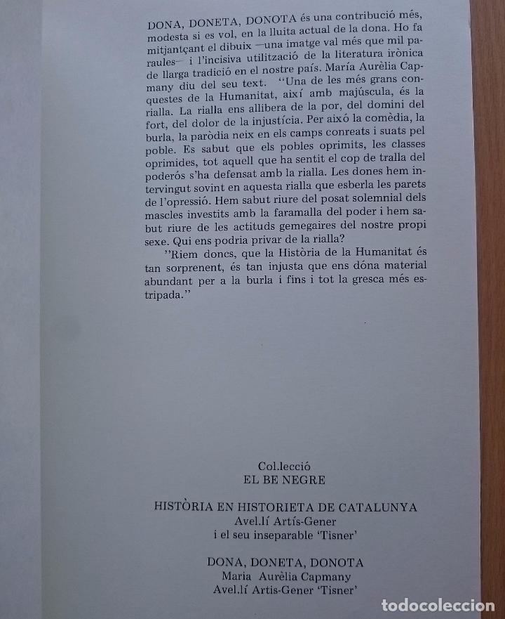Libros de segunda mano: DONA, DONETA, DONOTA - CATALÀ - Foto 5 - 134534541