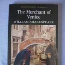 Libros de segunda mano: THE MERCHANT OF VENICE. Lote 94429686