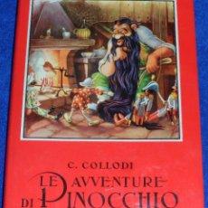 Libros de segunda mano: LE AVVENTURE DI PINOCCHIO - COLLODI - JACOVITTI - LA SCUOLA (1960). Lote 94967659