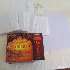 Libros de segunda mano: SHANTARAM. GREGORY DAVID ROBERTS..AUDIO LIBRO EN INGLÉS EN 35 CDS. 43 HORAS. AUDIO BOOK 2006 . Lote 95506847