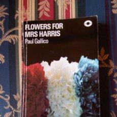 Libros de segunda mano: FLOWERS FOR MRS HARRIS, DE P. GALLICO, LONGMAN (LECTURA GRADUADA EN INGLES). Lote 95638139