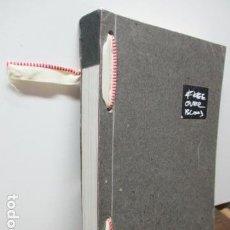 Libros de segunda mano: FREE OVER BLOCK - CURIOSO LIBRO EN POLACO - INGLES. Lote 95838639