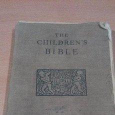 Libros de segunda mano: THE CHILDRENS BILBLE - CAMBRIDGE UNIVERSITY PRESS - 1937 - ENTELADO - MUY RARO - EN INGLES. Lote 96086115