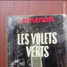 Libros de segunda mano: LES VOLETS VERTS. Lote 98392163