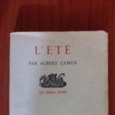 Libros de segunda mano: L' ETÉ. Lote 98394187