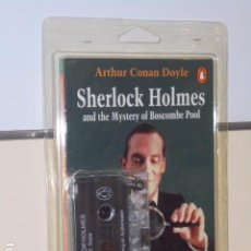 Libros de segunda mano: SHERLOCK HOLMES AND THE MYSTERY OF BOSCOMBE POOL PENGUIN READERS LEVEL 3 LIBRO MAS CASSETTE. Lote 98646491