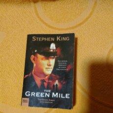 Libros de segunda mano: THE GREEN MILE. STEPHEN KING. ALEMAN. Lote 98783338